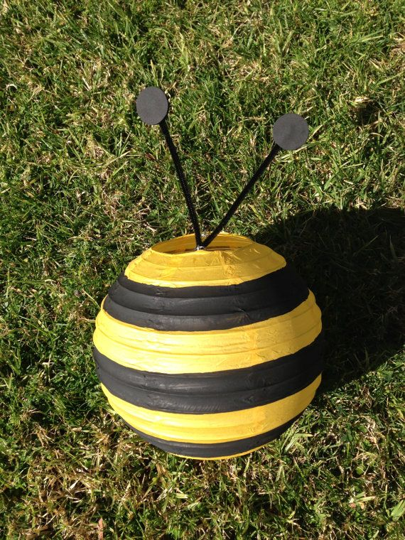 Bumble Bee Paper Lantern Decoration