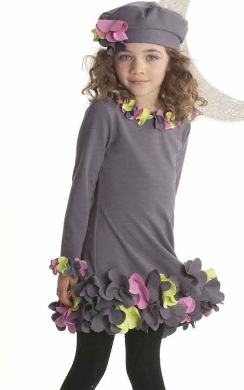 "Biscotti ""Urban Garden"" Precious Grey A-Line DressSizes 12 & 16"