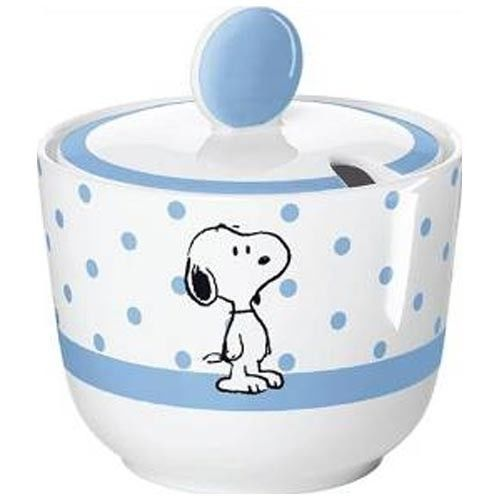 United Labels Best Of Snoopy - Barattolo in porcellana 200 ml Puah Pua Ce A28759