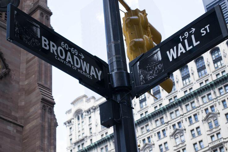 Broadway & Wall St