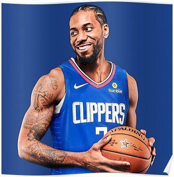 Kawhi Leonard LA Clippers Poster   – Men's Sneaker Types