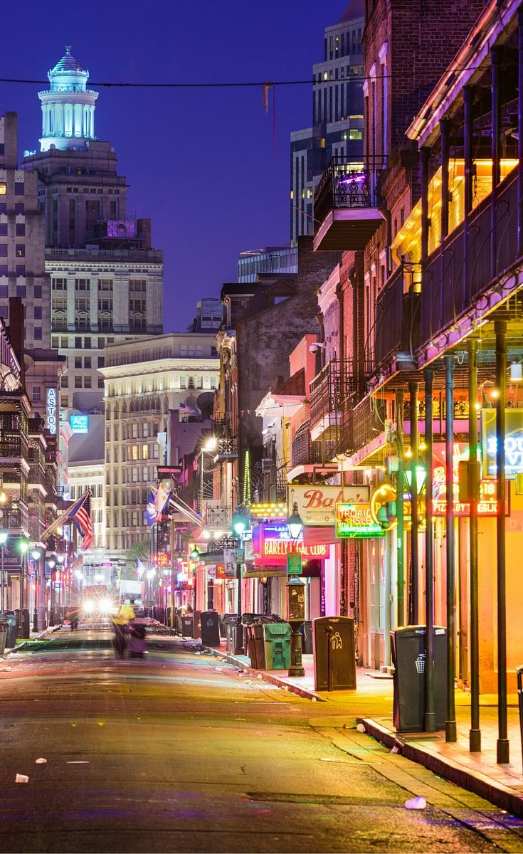 Bourbon street is in the heart of the French Quarter, and is basically New Orleans oldest neighborhood.  It is definitely a must see when visiting New Orleans!