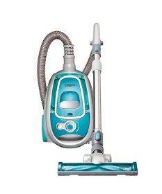 Aspirapolvere ciclonico senza sacco NH9033 R2 Rotea R2 - Apertura e pulizia rapida del contenitore polvere con un solo movimento di mano.