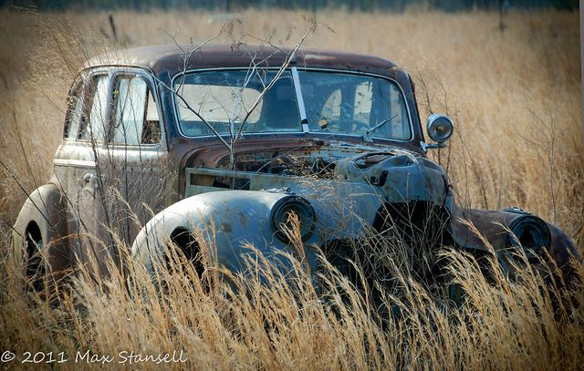 Abandoned Car | Flickr - Photo Sharing!