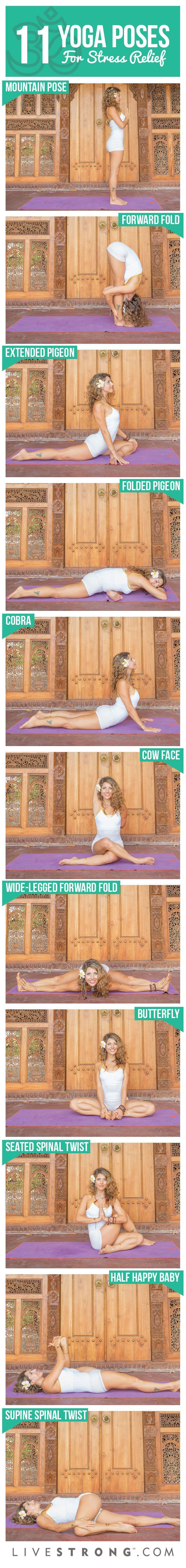 11 #Yoga Poses to Eliminate Stress From Your Day