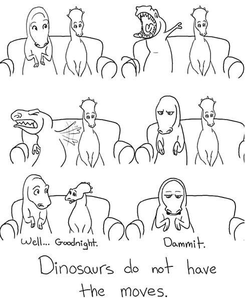 Poor T-Rex.
