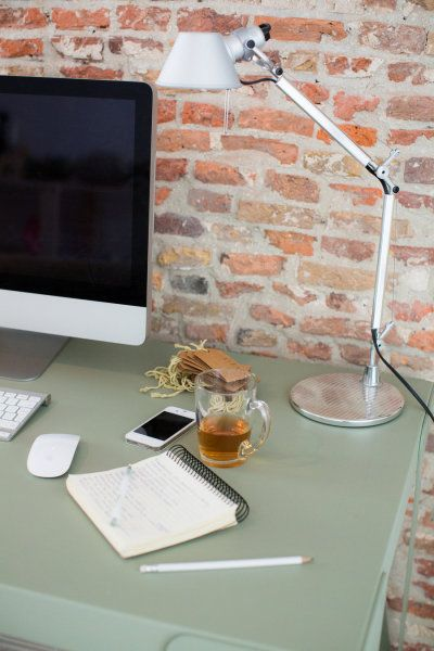 Simple desk styling
