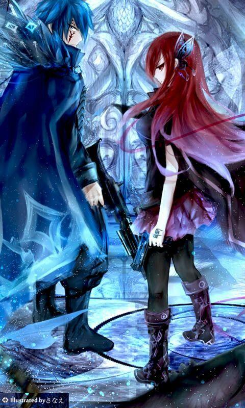 Jerza jellal fernandes x erza scarlet fairy tail - Erza scarlet wallpaper ...