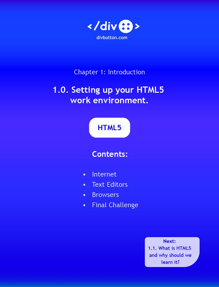 To write HTML5, you need an internet connection, a text editor and a browser. This post explains why you need each, and highlights a few popular text editor and browser options.