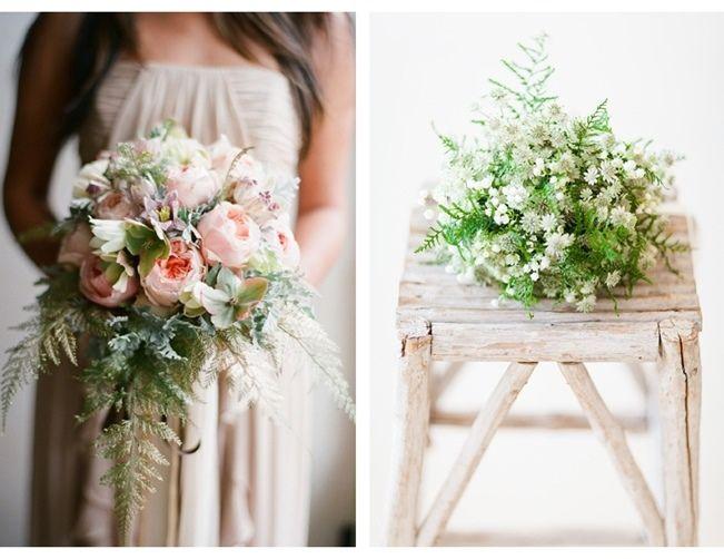 Fern Wedding Bouquets 3