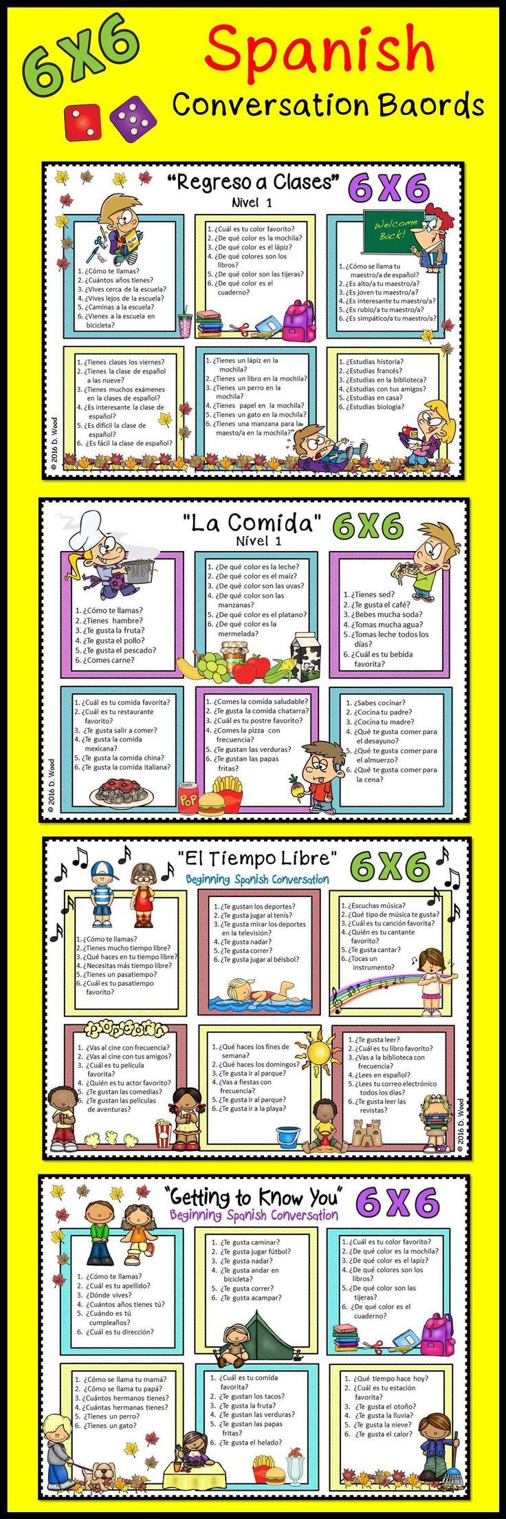 Spanish conversation bundle Spanish conversation