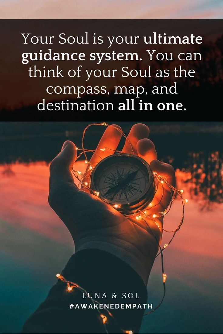 Your Soul is your ULTIMATE source of spiritual guidance.