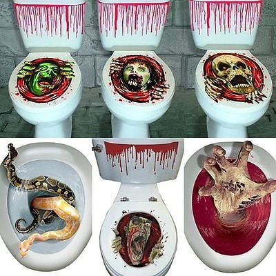 #Halloween toilet seat grabber cover #scary #horror party decoration topper,  View more on the LINK: 	http://www.zeppy.io/product/gb/2/122129705213/