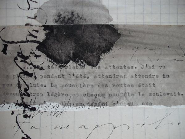 """Artwork by Christel Llop // Extrait des """"Nourritures Terrestres"""" d'André Gide"""