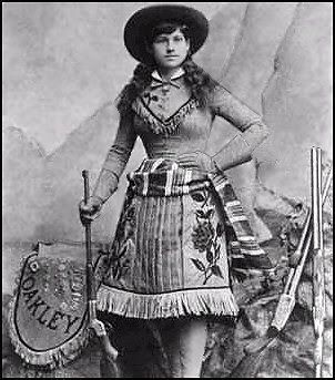 """Well behaved women rarely make history"" -Annie Oakley"