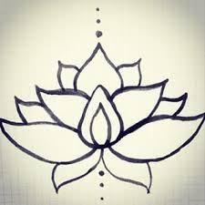 """Résultat de recherche d'images pour """"dessin fleur de lotus"""""""