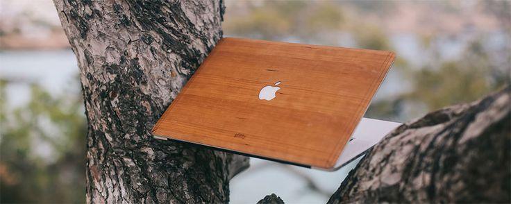 Giv din MacBook et blæret træ-look! - GADGorilla
