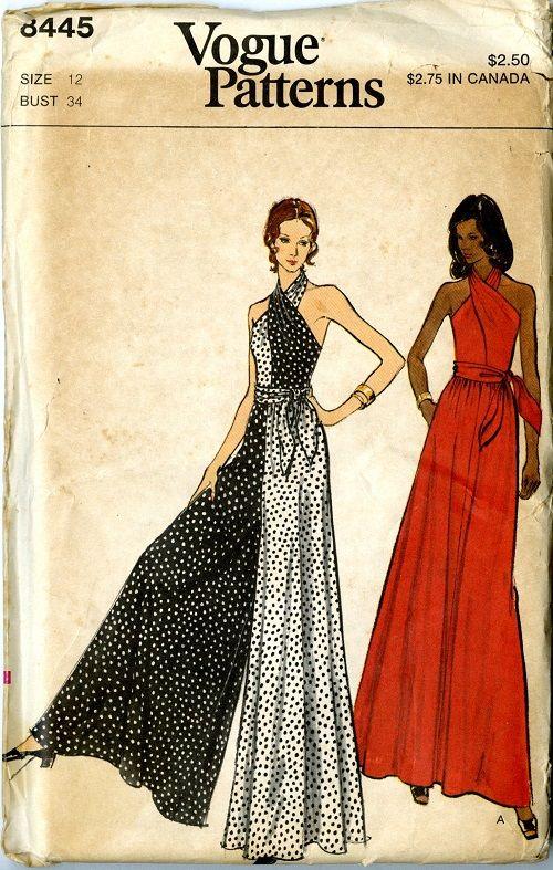01fbcc7d7a Vintage Vogue pattern 8445