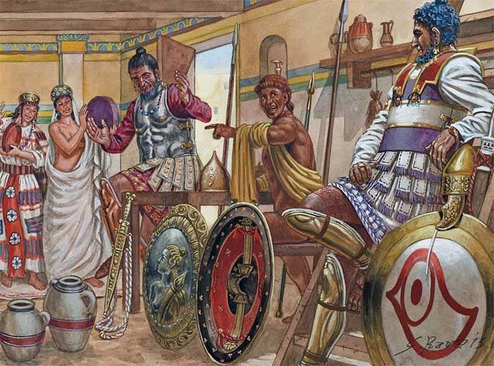 Carthaginian soldiers | Ancient carthage, Ancient warfare