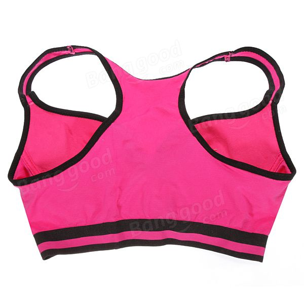 Sports Bras Racerback Yoga Crop Padded Top Postpartum Recovery - US$9.77