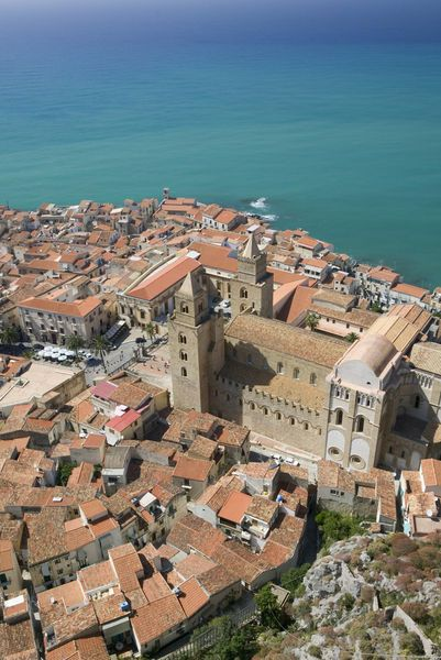"""""""Cefalu, province of Palermo ,   Region of   Sicily, Italy (Walter Bibikow)""""  by Jon Arnold Images"""