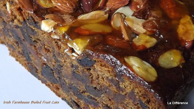 La Différence: Irish Farmhouse Boiled Fruit Cake ( the easiest Fruit Cake you will ever make)