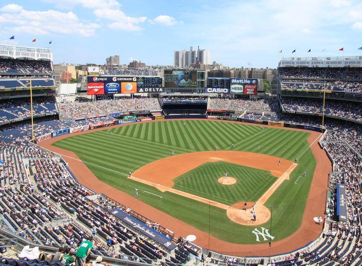 Yankee Stadium New York Yankees Ballpark Ballparks Of Baseball Yankee Stadium Yankees Stadium