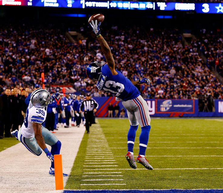 The Greatest Catch Ever? We think YES. Check out Odell Beckham, Jr.'s twisting one-hand touchdown grab.