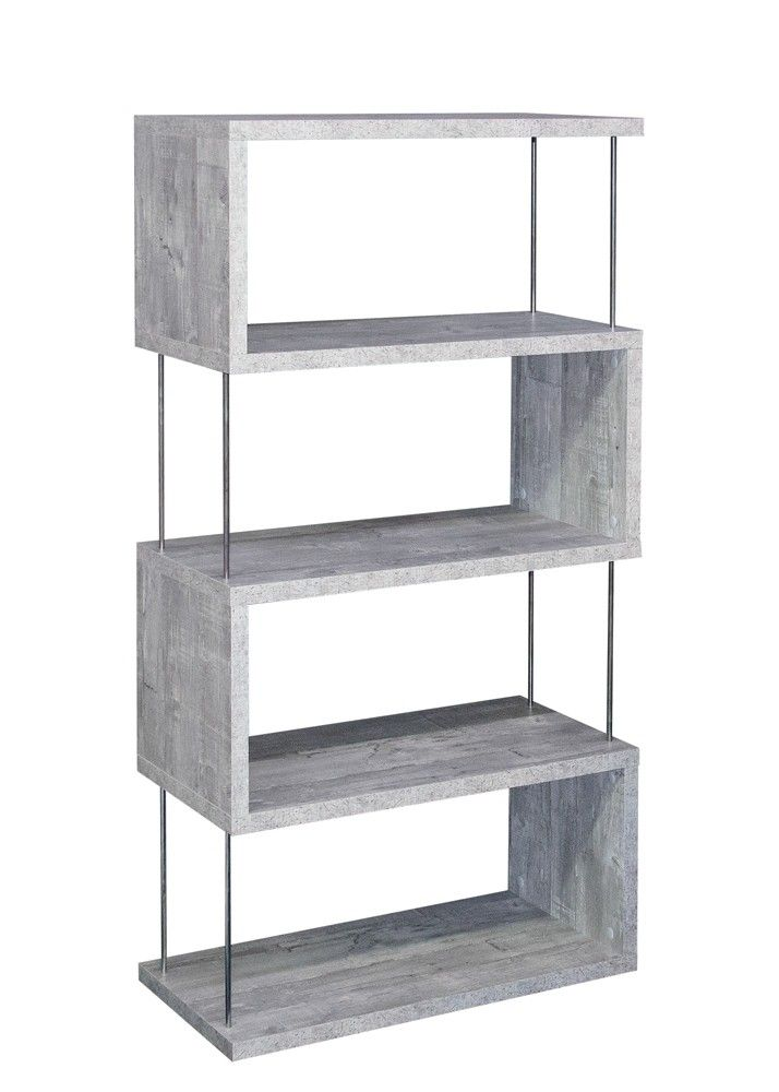 Regal Stick Standregal 5-66 Beton 20290. Buy now at https://www.moebel-wohnbar.de/regal-stick-standregal-5-66-beton-20290