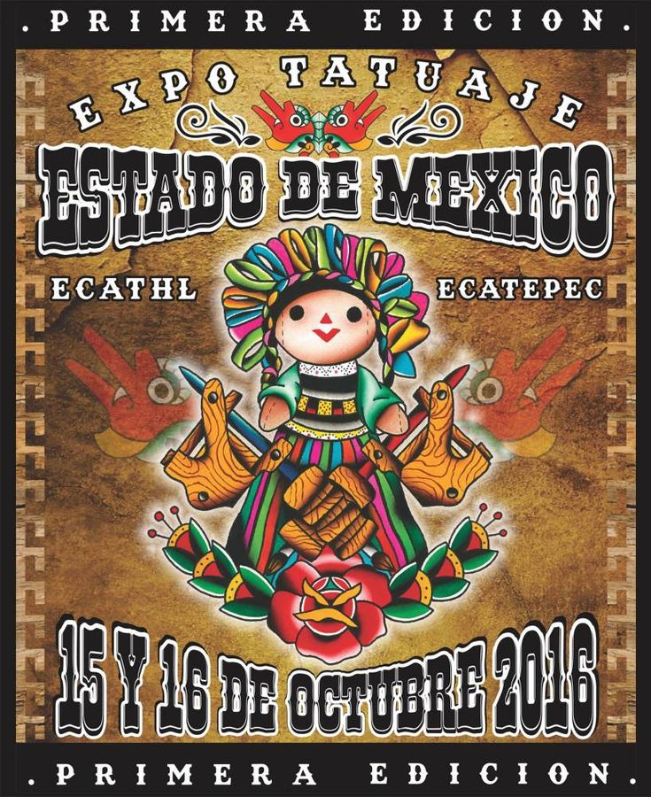 1º Expo Tatuaje Estado de México | Tattoo Filter