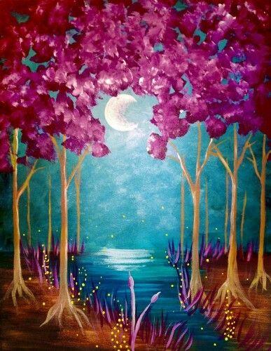 painting class acrylic