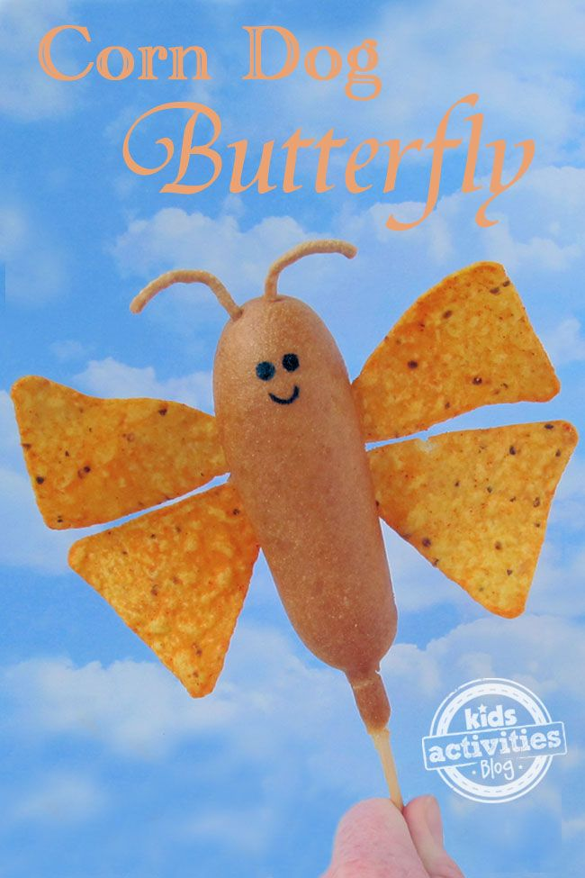 Corn Dog Butterfly. I love him!!!