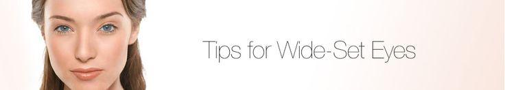 Application Tip for Wide Set Eyes