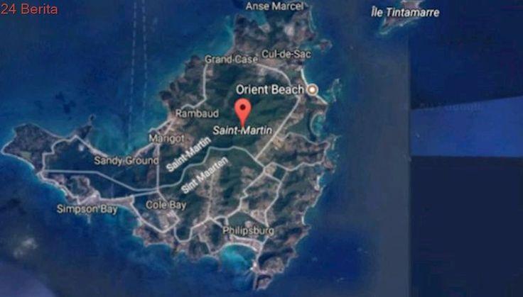 Badai Irma Menghantam, 95 Persen Pulau St Martin di Karibia Hancur