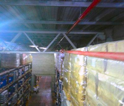 redes contra incendio en plantas industriales