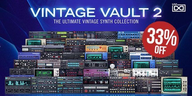 50 Virtual Synth Instruments, 111 Drum Machines | ProducerSpot