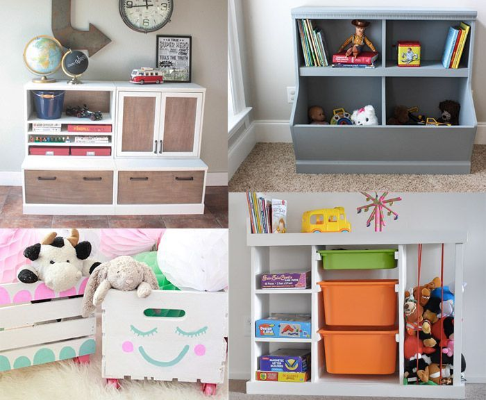 10 Diy Toy Storage Ideas For Any Space Toy Organization Diy Toy