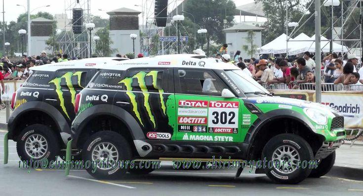 Dakar Ralley cars (Peru, 2013)