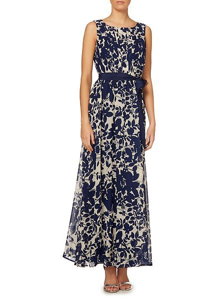 £76.00  Chiffon floral maxi dress