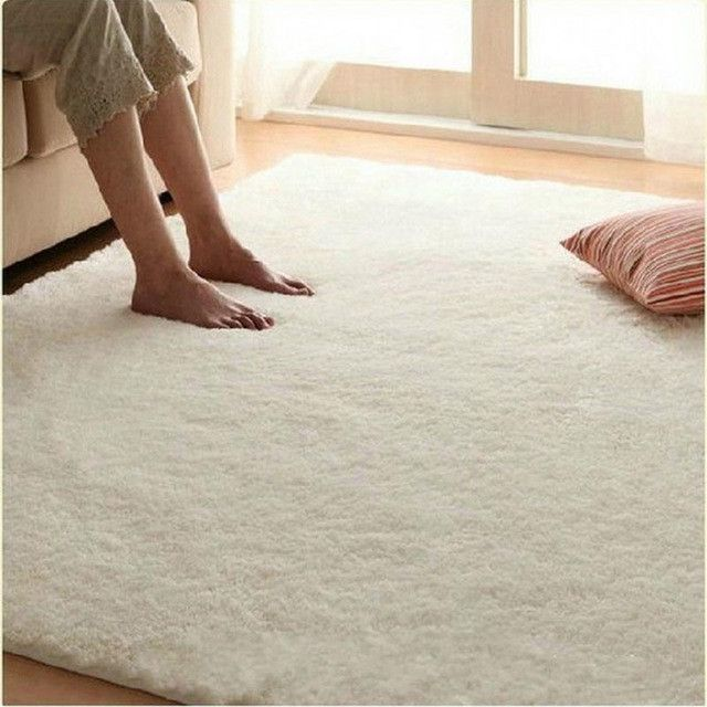 60x90cm new carpet floor bath mat non slip silky hair thicken carpet