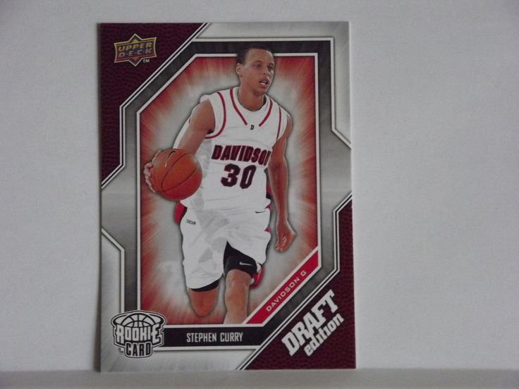 2009-10 - STEPHEN CURRY UPPER DECK DRAFT EDITION ROOKIE #34 MINT FROM PACK #GoldenStateWarriors