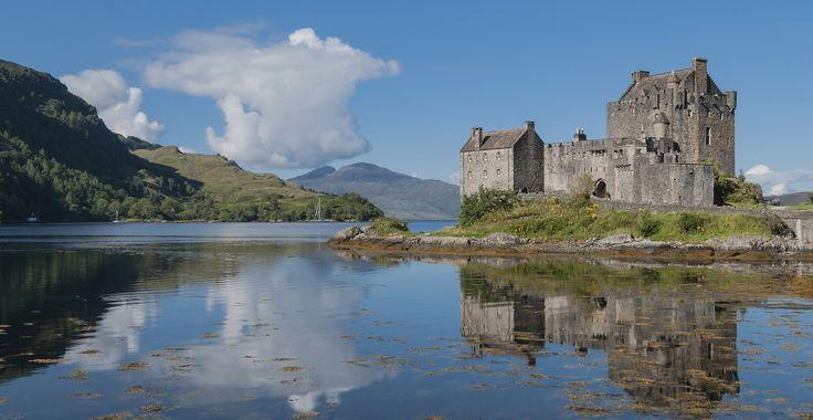 Eilean Donan is een van de mooiste kastelen van Schotland.