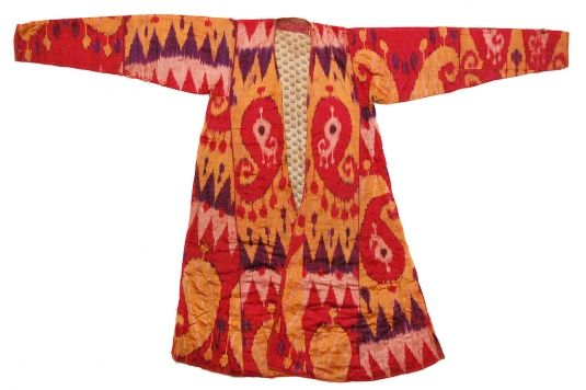 Silk Ikat Coat.