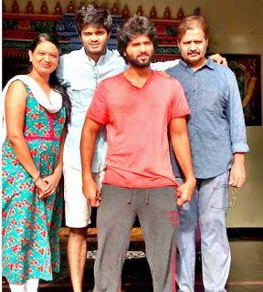 Vijay Devarakonda Family Pic