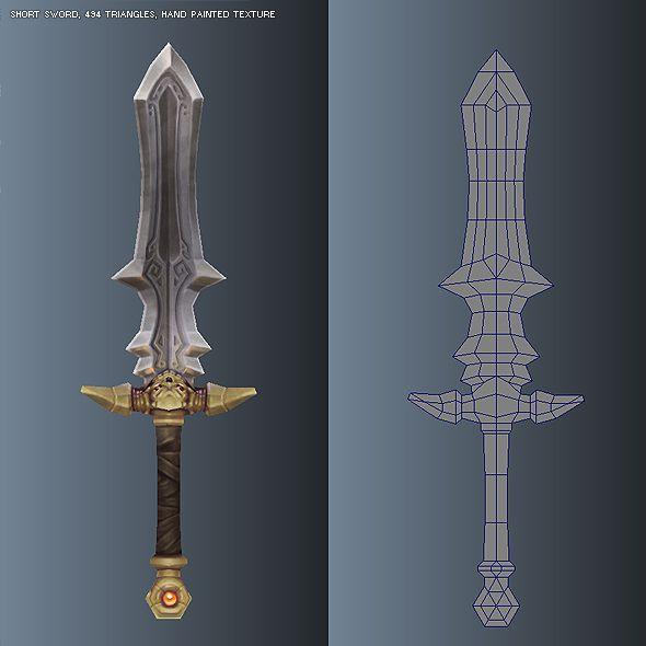 sword low poly - Поиск в Google