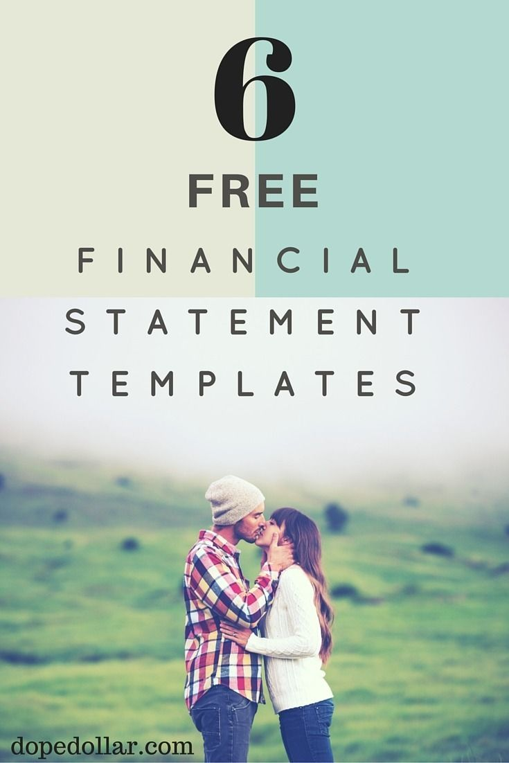 5+ Business & Personal Financial Statement Templates