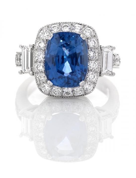 Blue Sapphire Jewels / Berjani / Wedding Style Inspiration / LANE