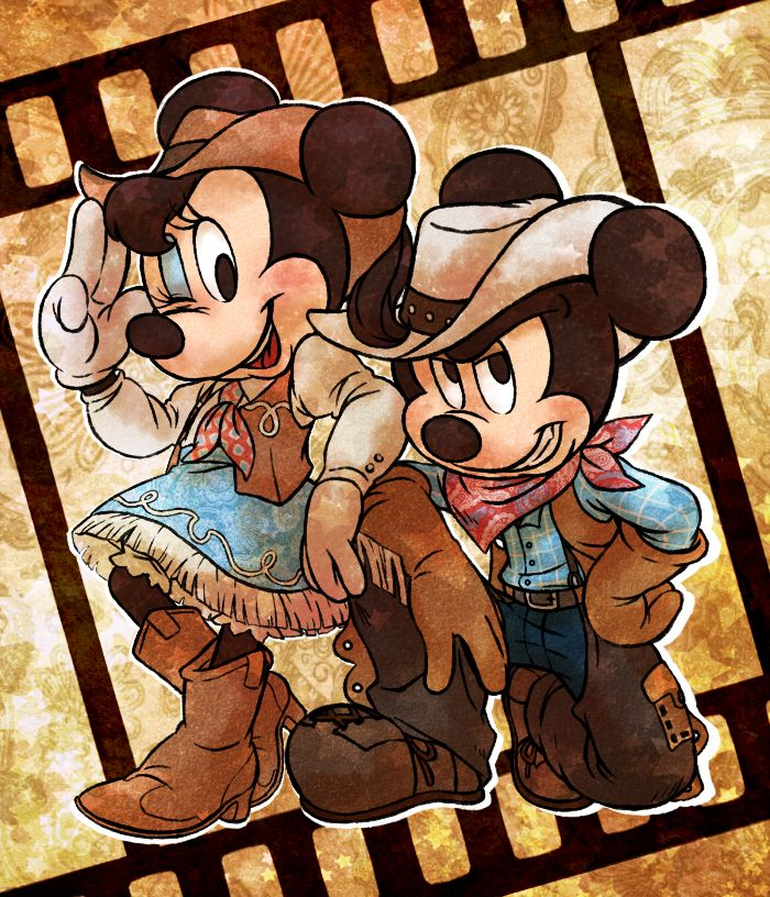 Cowboy and Cowgirl by marezon-m.deviantart.com on @deviantART