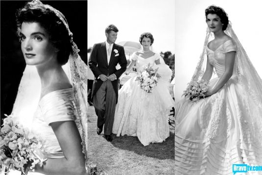 Jackie bouvier kennedy onassis vintage love pinterest for Jackie kennedy inspired wedding dress