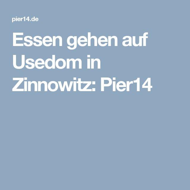 Essen gehen auf Usedom in Zinnowitz: Pier14